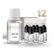 Pack DIY 12 100 ml en 50/50 Revolute