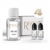 Pack DIY 4 100ml en 50/50 Revolute