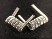 Framed staple clapton Coil
