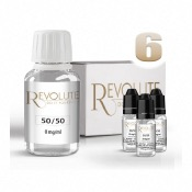 Pack DIY 6 100 ml en 50/50 Revolute