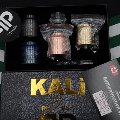 Kali V2 RDA Brass and Copper édition by QP Design