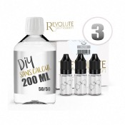Pack DIY 3 200 ml en 50/50 Revolute