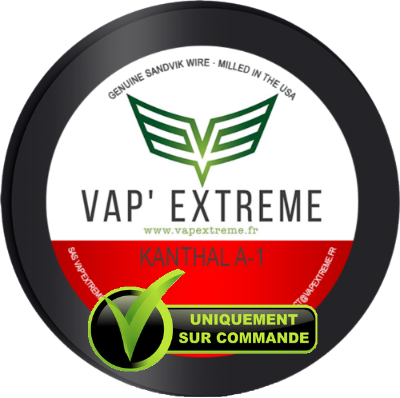 Kanthal A1 Vap'Extreme (Grosses sections)